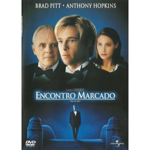 Dvd Encontro Marcado - Brad Pitt, Anthony Hopkins
