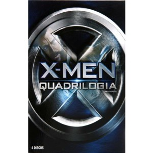 Box Dvd X-Men Quadrilogia