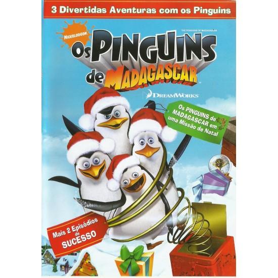 Dvd Os Pingúins de Madagascar