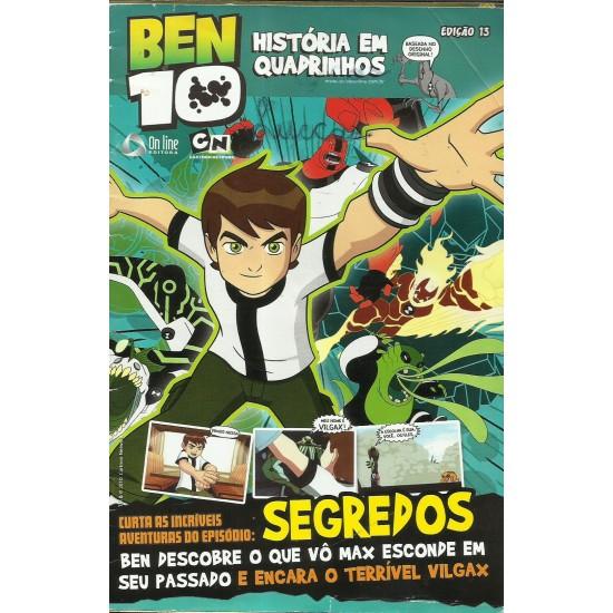 Ben 10 - Amanaque Historias Em Quadrinhos Edição 13