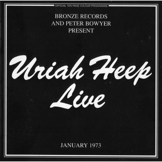 Cd Uriah Heep, Live 73