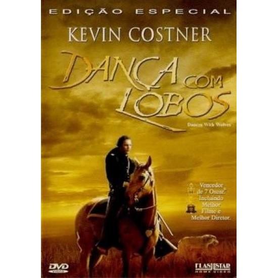 Dvd Dança Com Lobos, Kevin Costner