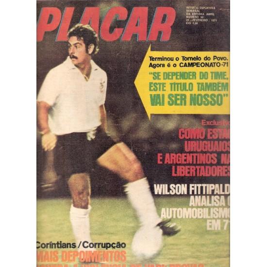Revista Placar 50 - Se Depender do Time Este Titulo Também Vai ser Nosso (26/02/71)